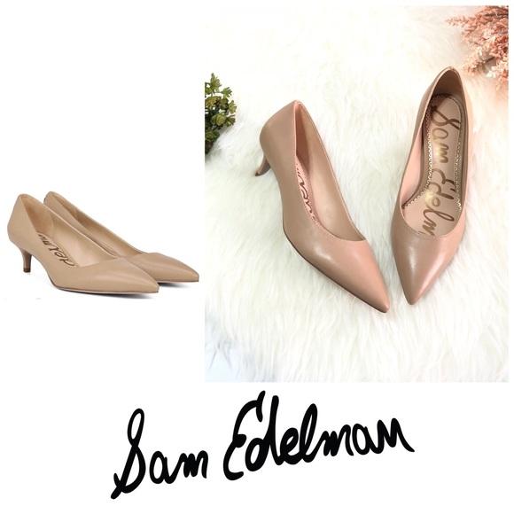 7040287ff NWOT Sam Edelman Dori Kitten Heel size 6. M 5bd336346197455bb6c58b9b